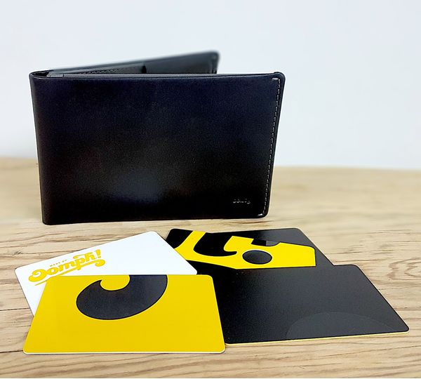 RFID Plastic cards and Bellroy wallet