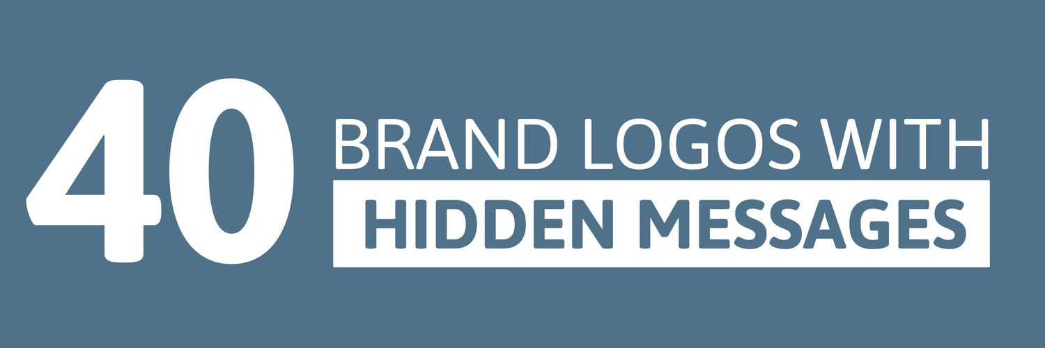 Oomph 40 brand logos with hidden messages