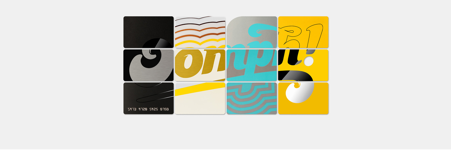 Oomph plastic cards collection