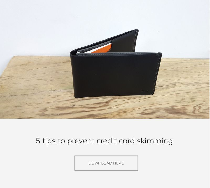 RFID credit cards skimming prevention tips