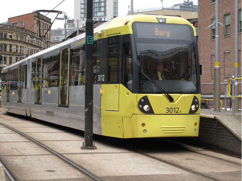 Manchester metro get me there rfid smart card from made by oomph