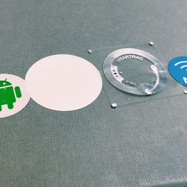 Rapid NFC tags and stickers by Made by Oomph