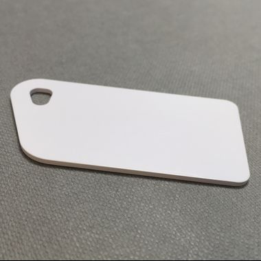 NFC blank white key tag by Oomph