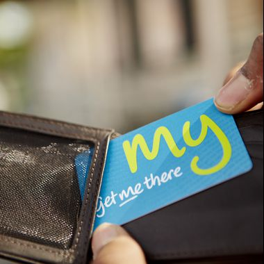 NFC RFID Smart Ticket plastic card for Get Me There