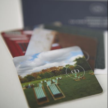 Rosewood NFC Plastic Cards manufactured by Made by Oomph