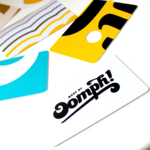 Plastic cards range Made by Oomph