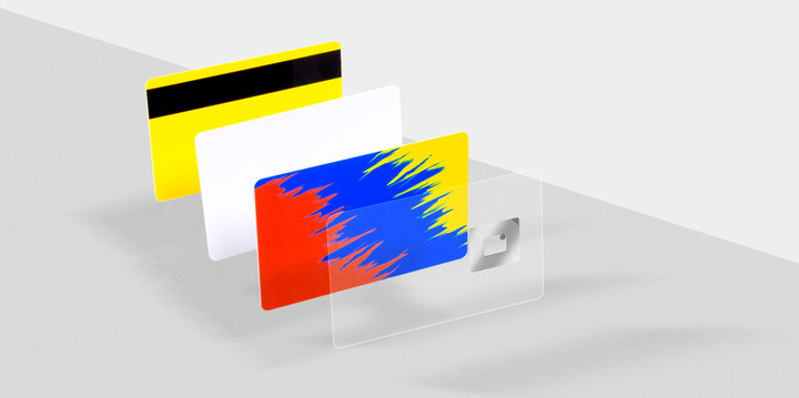 RFID card and material layers from Made by Oomph